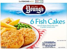 Youngs Fish Cakes - 2 Syns