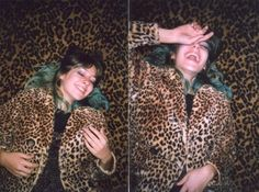 Pretty LA girls #losangeles #la #bluehair #cheetahprint #cheetah
