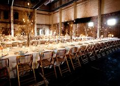 Industrial warehouse space converted into wedding hall. Aria- Minneapolis, MN