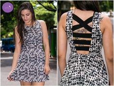 O vestido ideal para essa sexta-feira! #Vemprazas