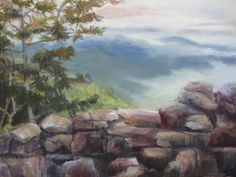 Blue Ridge, Daily Painter: Janet Wimmer