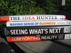 The idea hunter. Making sense of business. Book Spine, What Next, Poetry, Business, Books, Libros, Book, Poetry Books, Business Illustration