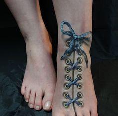 tatuajes 3d para mujeres para pies