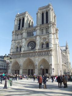 Notre Dame in France. One of my top destinations. The significance of this architecture in the scheme of the art world (and historical world) is beyond that of any other church other than the Vatican.