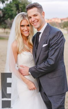 Jason Kennedy and Lauren Scruggs Are a Gorgeous Married Couple in First Official Photo From Their Dallas Wedding: See the Pic!