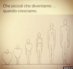 Che piccoli che diventiamo.. | BESTI.it - immagini divertenti, foto, barzellette, video Sad Quotes, Love Quotes, My Life Style, Tumblr, Bukowski, Im In Love, Meditation, Thoughts, Writing