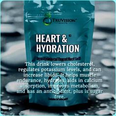 Love this drink from Truvision. I love the increased libido. lol. christie.truvisionhealth.com ID #29944