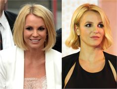 The Best Long Bob Hairstyles: Britney Spears's Long Bob