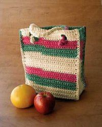 This bag is perfect for all your grocery needs as it's nice and sturdy. The stripes are fun because it adds a little something extra without it being too much design for your liking.