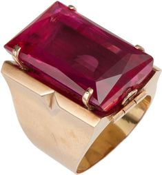 Rubylite  Ring  Lot 46079