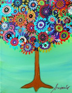 Tree of life painting by prisarts