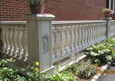 Precast Concrete Balusters & Balustrade Systems, Rails, Posts, Installation Instructions