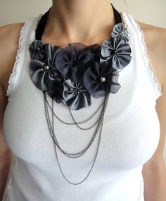 So lovely Handmade Accessories, Milan, Ruffle Blouse, Necklaces, Tops, Design, Women, Fashion, Jewerly