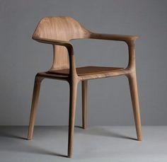 history chair, de cathal loughnane e peter sheehan Unique Furniture, Contemporary Furniture, Luxury Furniture, Wood Furniture, Furniture Design, Canapé Design, Wood Design, Interior Design, Poltrona Design
