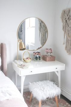 It's the day after tax day and I'm feeling drained....literally Here's a different angle of my vanity. I usually want to switch decor up pretty frequently, but I have no desire to change this space...ever #liketkit http://liketk.it/2vqjd @liketoknow.it #LTKhome @liketoknow.it.home Download the LIKEtoKNOW.it app & follow me at 'teresalaucar' to shop this pic via screenshot!