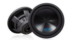 """Alpine SWS-12D4 12"""" Dual-Voice-Coil 4-Ohm Subwoofer SWS12D4"""