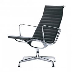 Vitra Aluminium Chair EA 116 Loungestoel, draaibaar