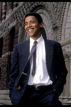 A younger Obama