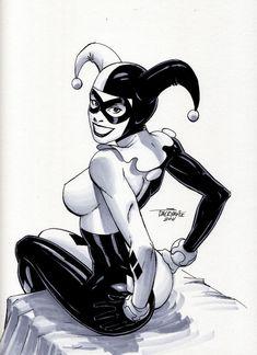 Harley Quinn by Scott Dalrymple *