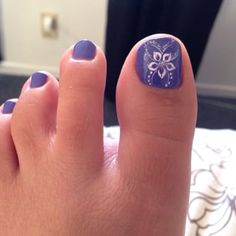 Heat Up Your Life with Some Stunning Summer Nail Art Flower Toe Nails, Purple Toe Nails, Pretty Toe Nails, Toe Nail Color, Cute Toe Nails, Summer Toe Nails, Pretty Toes, Toe Nail Art, Purple Pedicure