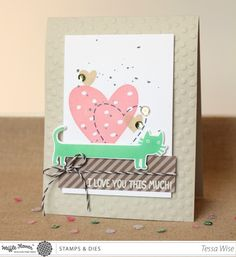 CRAFTY GIRL DESIGNS: I Love You This Much Card