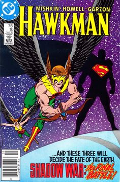 The Shadow War of Hawkman: Epic Climax/Final Battle, covers by John Byrne