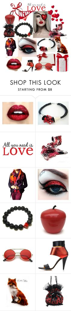All you need is love by anna-recycle on Polyvore featuring Kim Kwang, ZeroUV and Brewster Home Fashions