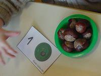 Avec des marrons, en maternelle Maternailes OK