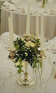 candelabras wedding flowers - Google Search