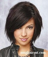 Not so sure I could pull it off, but if I cut my hair above my shoulders again, this is what I would want it to look like.
