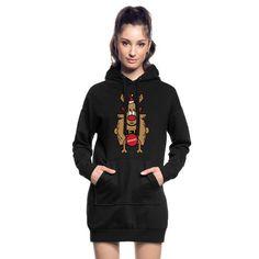 Dirty Rudolph zu Weihnachten als Geschenk. Dirty Rudolph - zensiert. Rudolph überzeugt mit seiner roten Nase. Ein ideales Geschenk zu Weihnachten, Neujahr und Geburtstag für Weihnachts Liebhaber und Ungly Xmas Fans. In verschiedenen Farben #rudolph #the #rednose #ugly #xmas #love #christmas #germany #weihnachten #merrychristmas #christmastime #advent #spreadshirt #tshirt #fashion #style #hoodie #weihnachten #fashion #geschenkideen #geschenke Long Sleeve Shirts, Sweat Shirt, Fuchs T-shirt, Skateboard, Cadeau Design, Neue Outfits, Oriental Fashion, Hoodie Dress, Vestidos