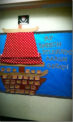 Cuuuute idea for possible speech classroom one day!