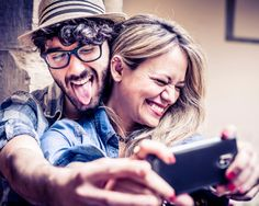 Funny selfie couple of hipsters having fun with smartphone photography stock photo 498209869 cute couple poses Cute Couple Poses, Couple Posing, Couple Selfie, Couple Shoot, Flirting Quotes For Her, Flirting Tips For Girls, Flirting Humor, Funny Couples, Young Couples