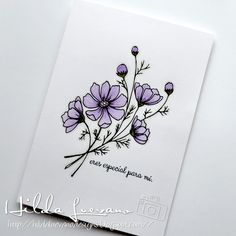 """Hilda Designs: Challenge # 29 in LAC: Clean & Simple Cosmos corsage card from digista . - Hilda Designs: Challenge # 29 in LAC: Clean & Simple Cosmos corsage card from """"Just - Bullet Journal Inspo, Bullet Journal Banner, Bullet Journal Quotes, Bullet Journal Writing, Bullet Journal Aesthetic, Bullet Journal Themes, Floral Drawing, Art Journal Pages, Corsages"""