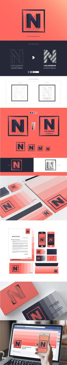 Brand Identity Re-design on Behance. #identity #branding