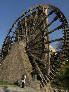 Waterwheels , Hama