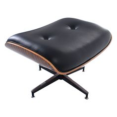 Costway Modern Wood Eames Style Lounge Chair & Ottoman Set Armchair - Arm Chairs, Recliners & Sleeper Chairs - Chairs - Furniture