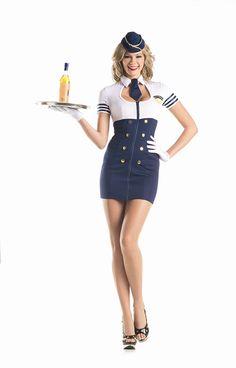 Be Wicked Costumes Womenu0027s Airline Hostess Hottie Costume #Wicked #Costumes #Womens #Airline #Hostess #Hottie #Costume | Sexy Stewardess | Pinterest ...  sc 1 st  Pinterest & Be Wicked Costumes Womenu0027s Airline Hostess Hottie Costume #Wicked ...