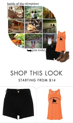 """join the battle of the olympians!"" by opheliaifeelya ❤ liked on Polyvore featuring River Island"