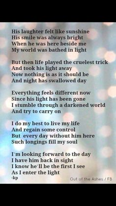 For you Mikey Mike. Miss you so. Missing My Husband, Grief Poems, Dad Poems, Be My Hero, Funeral Poems, Miss You Dad, Grieving Quotes, Missing You Quotes, Memorial Poems
