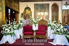 Archesweddings decoration aisle flowersgates weddings la vie church flowers setup wedding egypt junglespirit Images