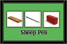SHEEP PEN MATERIALES