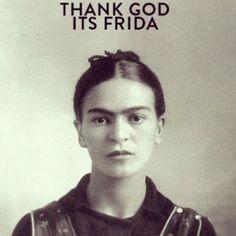Thank God it's Friday | Frida Kahlo | TGIF | funny | mexican revolution | iconic artist | young Frida