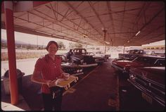 The Young Waitress at the Local A Snack Bar Is Saving Her Earnings for Out-Of-Town Schooling, 07/1973 by The U.S. National Archives, via Flickr