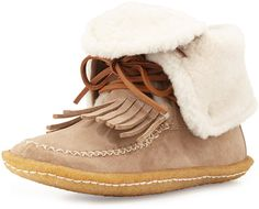 Lido Shearling Moccasin Bootie. I simply can't get enough of this.