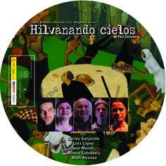 """Galleta DVD promocional para """"Hilvanado cielos""""."""