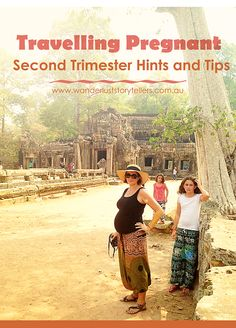 Travelling Pregnant on a family holiday, we have some second trimester hints and tips for you :)  Read more on wanderluststorytellers.com.au