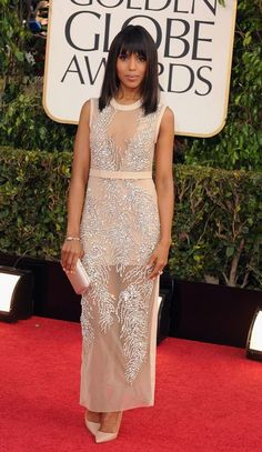 Kerry Washington continues her winning style streak with this Miu Miu number