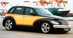 Chrysler PT Cruiser -  Retro Rides