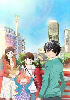Estrenos de Anime para el 8 de octubre.